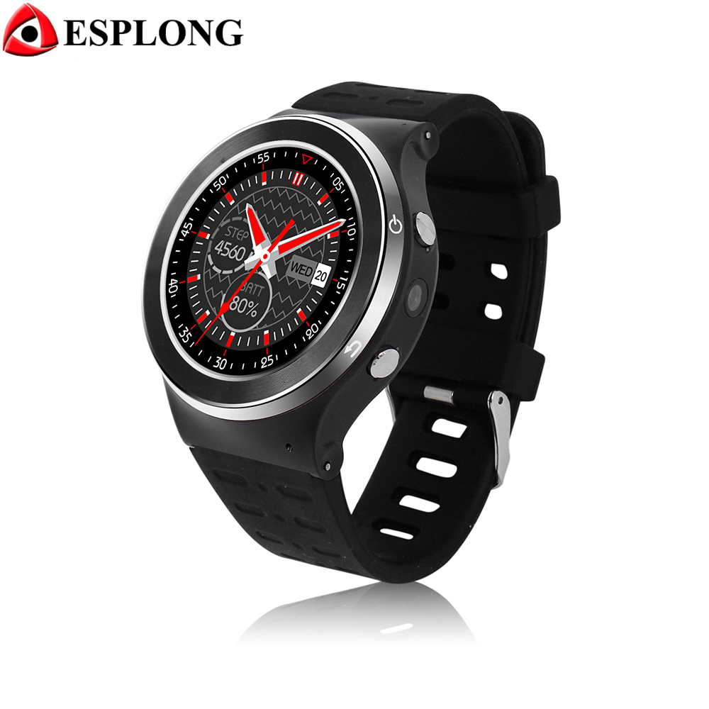 ZGPAX S99 WiFi GPS Watch MTK6580 Bluetooth Smart Watch Android 5.1 Heart Rate Monitor 3G Smartwatch With Camera PK Moto360 Q50