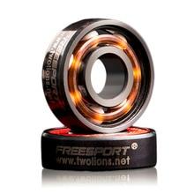 2016 New Arrival 608RS Good Roller Skates Ceramic Ball Inline Skate Bearings Drift Plate
