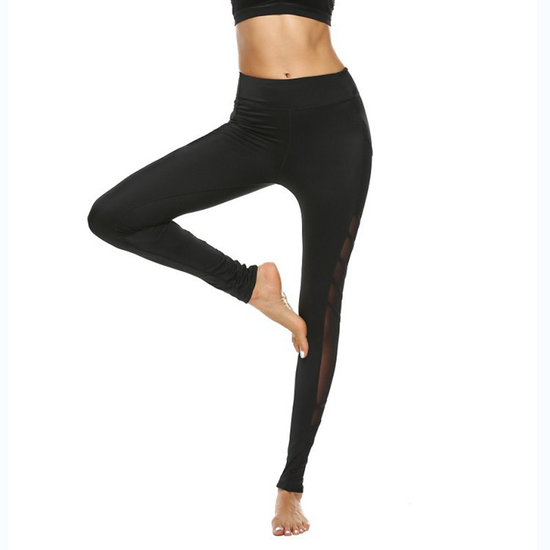 ec02c9766a6fca Women Sport Leggings Fitness Yoga Pants Black Athletic Leggings Sport Tight  Mallas Mujer Deportivas Gym Clothes Running P176-in Yoga Pants from Sports  ...