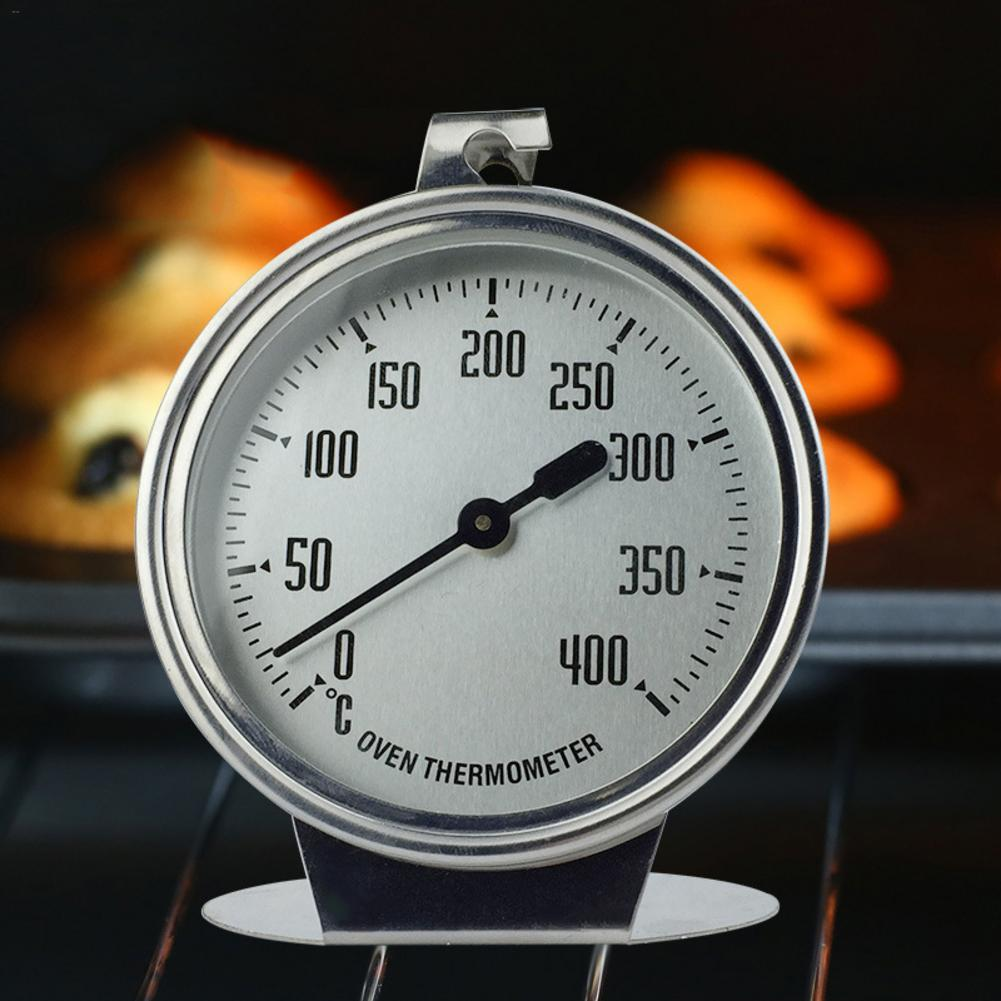 0 400 Degree Stainless Steel Thermometer High grade Large Oven Measuring Thermometer Baking Tool Food Cooking Measuring Device in Temperature Gauges from Home Garden