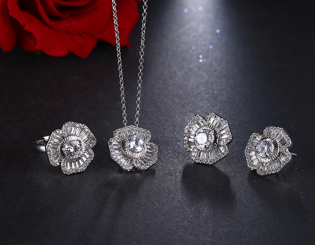 Фото be8 брендовые роскошные женские ювелирные наборы включает в цена