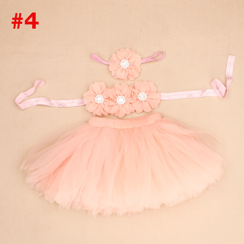 New-Princess-Baby-Tutu-Skirt-with-Matching-Flower-Headband-and-Bra-Top-Little-Girl-Tutus-Photo-Props-Costume-Outfit-TS067-4