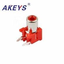 10PCS AV-8.4-5K High temperature resistance single hole AV concentric socket with core outlet катушка tesoro 12x10 concentric короткий кабель 5k