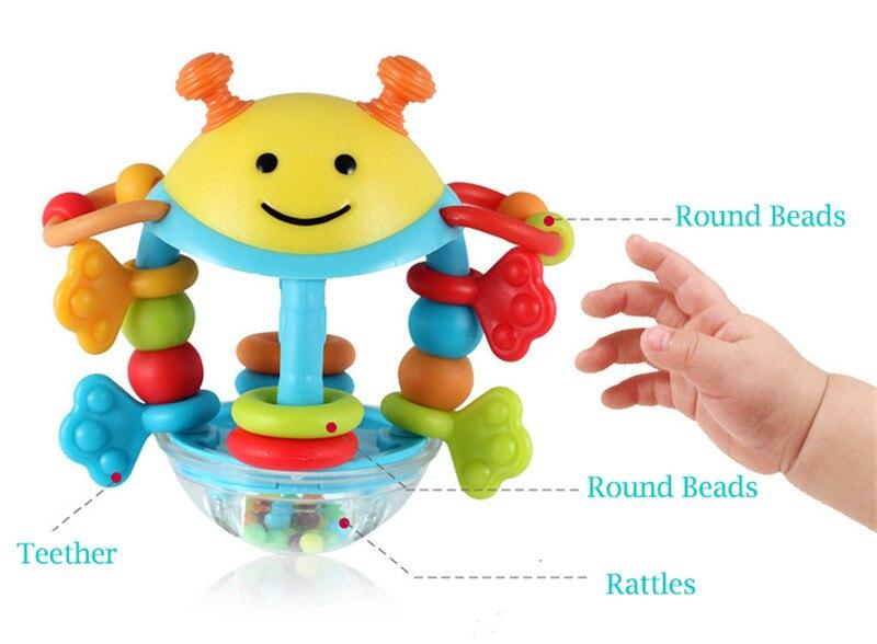 Brinquedos do bebê 6 12 13 24