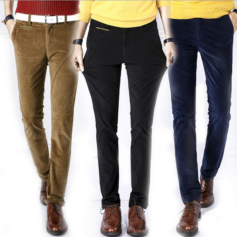 Online Get Cheap Corduroy Trousers Slim Fit Men -Aliexpress.com ...