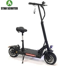 STAR New 11inch Foldable Electric mobility power kick 3200w Powerful motor folding Scooter Adult Electric Fold Bike Scooters все цены