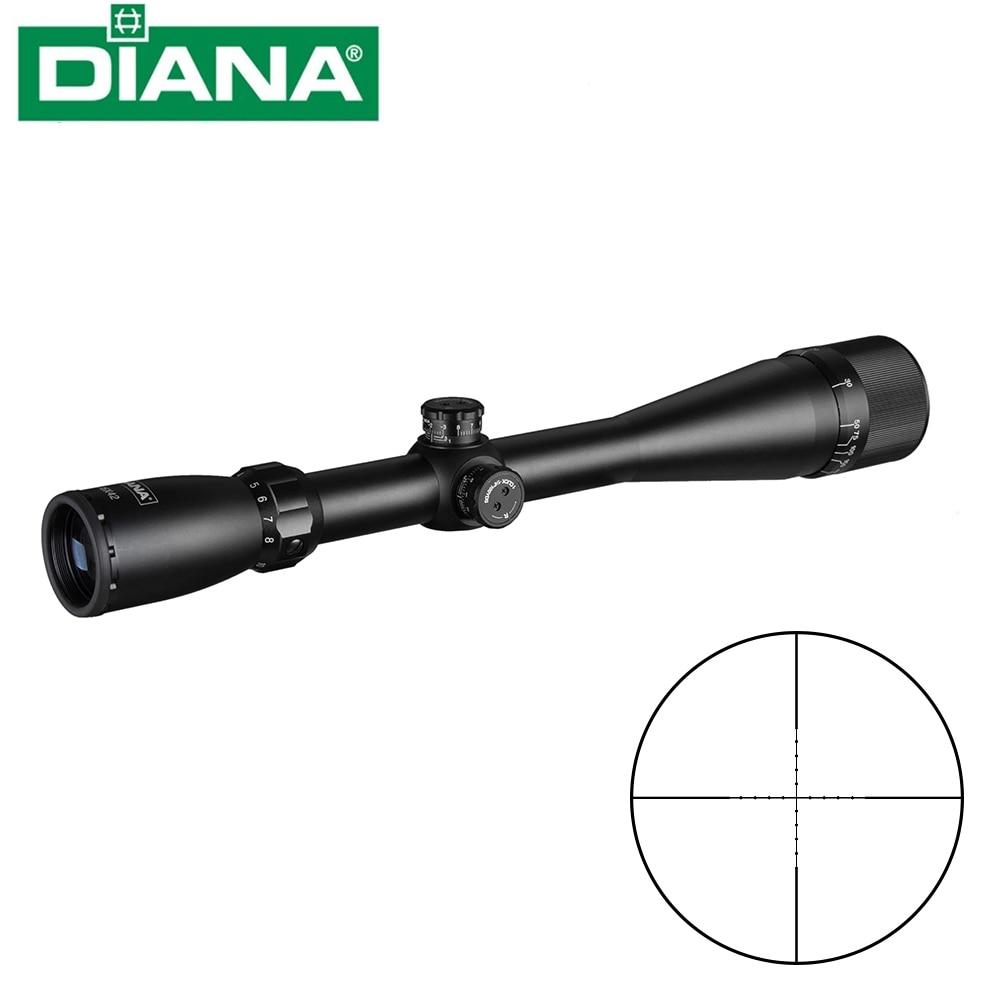 Hunting 4 16X42 AO DIANA  Tactical Riflescope Mil Dot Reticle Optical Sight Hunting Rifle Scope|Riflescopes| |  - title=
