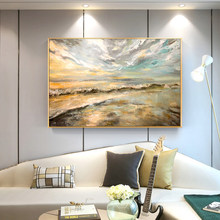 100% Hand Painted Impressionist Landscapes Art Oil Painting On Canvas Wall Pictures For Living Room Home Decor