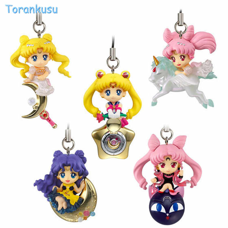 Anime Sailor Moon Keychain Twinkle Dolly Brinquedos Figura Cinta Do Telefone Charme Figura Sailor Moon Action Figure Set Brinquedos Brinquedos Boneca