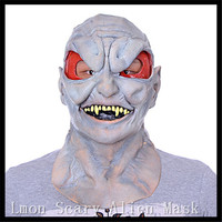 High Quality 2016 Helloween Scary Alien Mask Latex UFO Head Masquerade Masks Party Props Festival Supplies UFO Ghost Mask Gifts