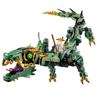 Lepin 06051 592pcs Movie Series Flying Mecha Dragon Building Blocks Bricks Baby Toys Children Gift Model