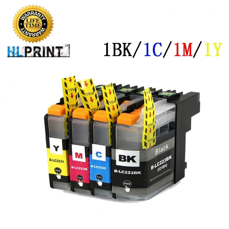 LC223 tintes kasetne ir saderīga ar Brother MFC J4420 J4620 J4625 J5320 5620 J5625 J5720 J480 J880 DW DCP J4120 J562 printeri