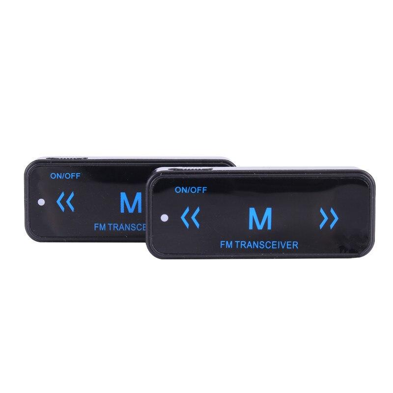 imágenes para LEIXEN VV-108 Mini Walkie Talkies con fuente de Alimentación USB y Auriculares, UHF 400-480 MHz, Invisible de Dos Vías de Radio, espía Transceptor