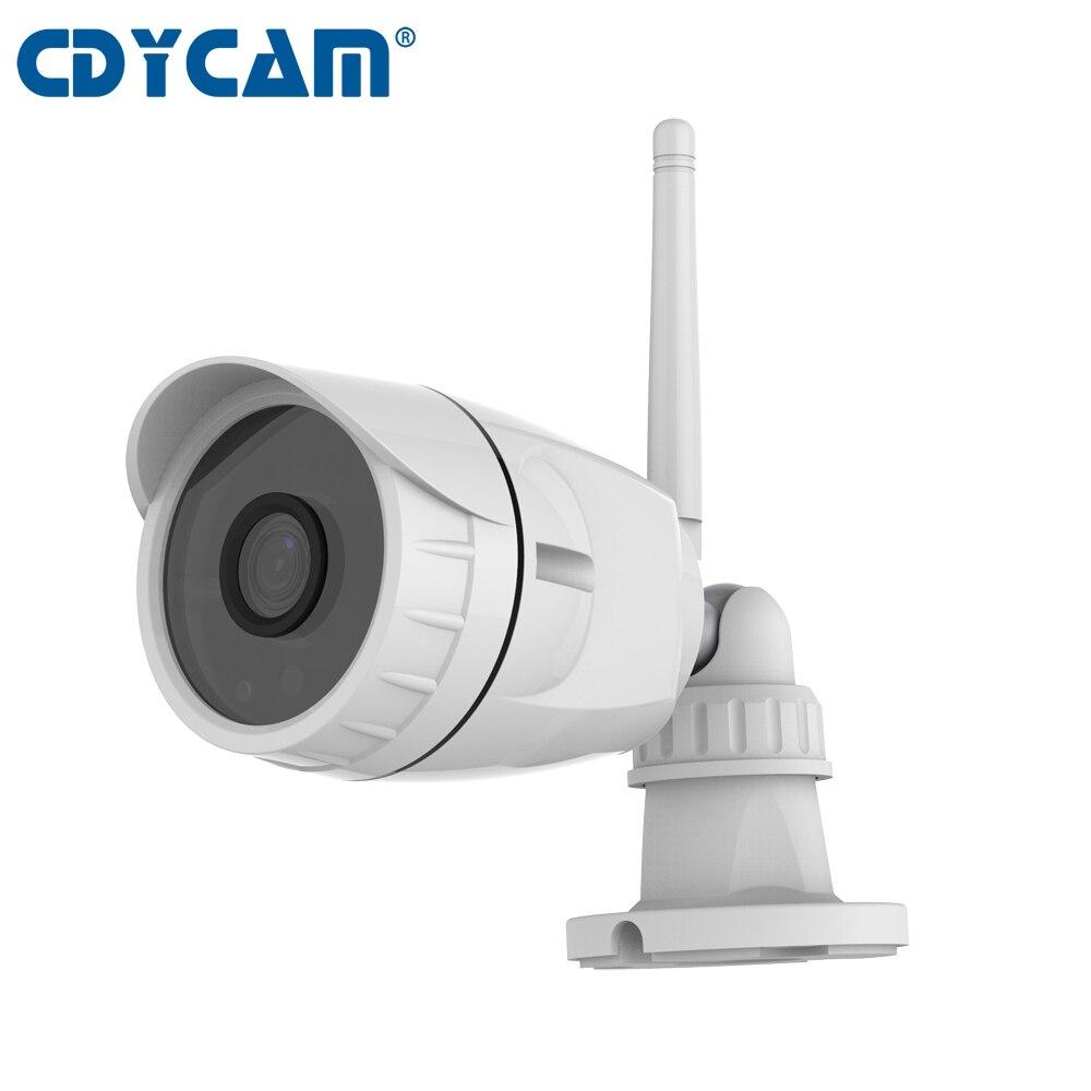 CDYCAM Wireless IP Camera 1080P 2MP,4mm lens Network P2P Onvif2.4 Outdoor Security Camera ip Waterproof Cam CCTV 10-15m IR Range