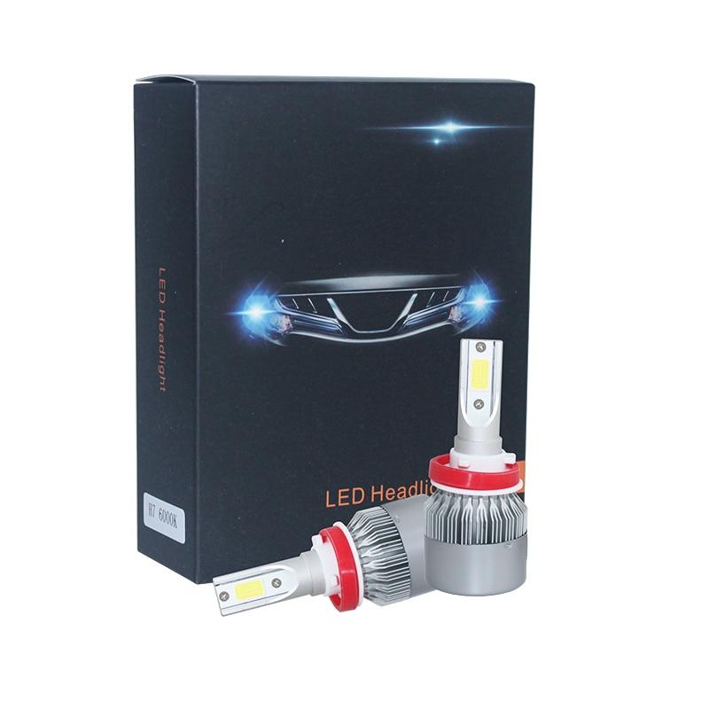 H4 H7 LED işıq mənbəyi H3 H8 H9 HB2 9003 HB1 9004 HB3 9005 HB4 - Avtomobil işıqları - Fotoqrafiya 3
