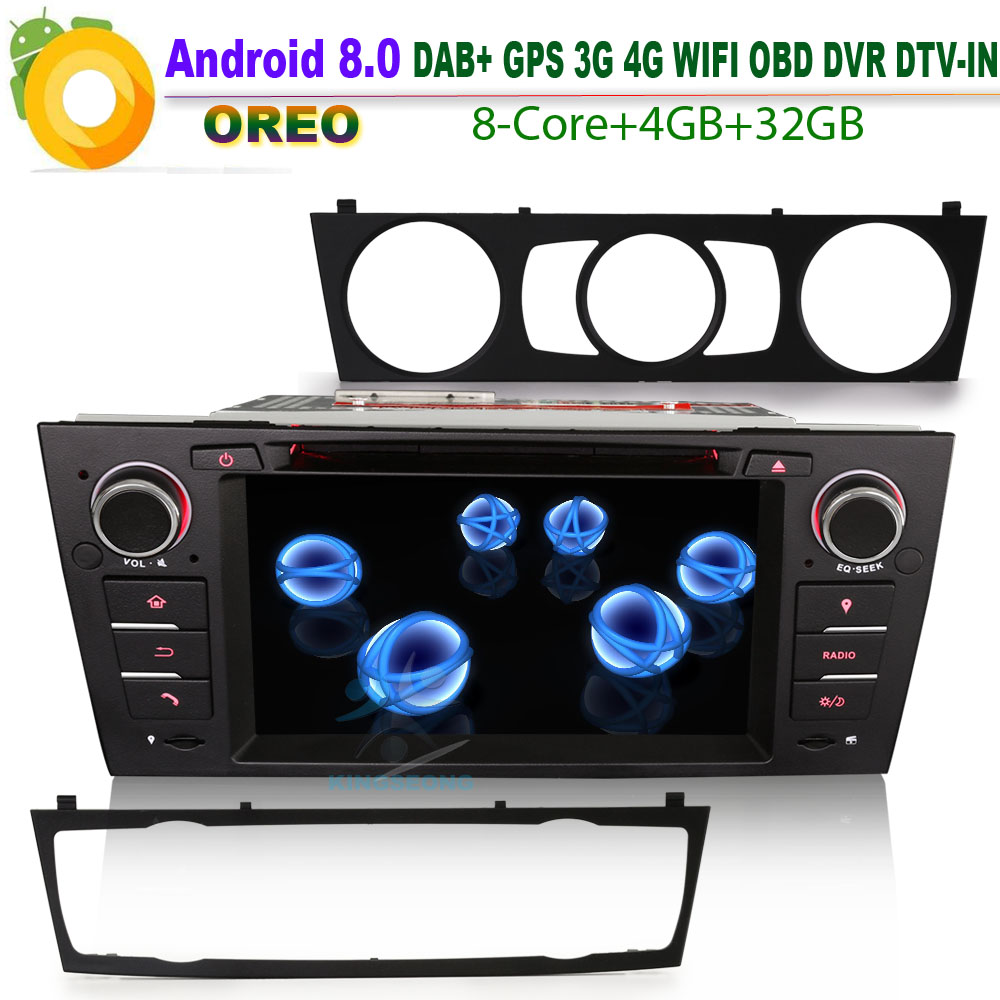 android 8 0 autoradio dab car radio for bmw e92 coupe gps. Black Bedroom Furniture Sets. Home Design Ideas