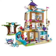 10859 Series 730Pcs Girl Friendship House Set Compatible Legoings Building Blocks Brick Childrens Gifts  Toys