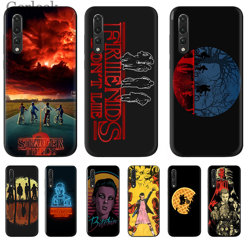 mobile <font><b>Phone</b></font> <font><b>Case</b></font> <font><b>Stranger</b></font> <font><b>Things</b></font> Wallpaper Coque For <font><b>Huawei</b></font> P Smart P30 P8 P9 P10 <font><b>P20</b></font> <font><b>Lite</b></font> Pro Cover image
