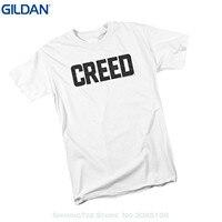 GILDAN High Quality Custom Printed Tops Hipster Tees T Shirt Cracked Movie Logo Creed Adult T