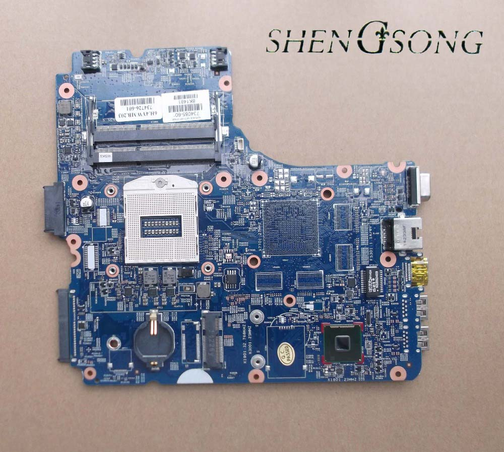 Free Shipping laptop motherboard For HP Probook 450 G1 440-G1 734086-001 734086-501 734086-601 system board Tested ok 815248 501 main board for hp 15 ac 15 ac505tu sr29h laptop motherboard abq52 la c811p uma celeron n3050 cpu 1 6 ghz ddr3