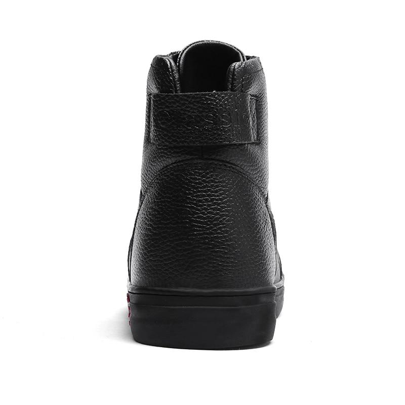 Couro Botas Sapatos 38 Wiinter De Pelúcia 1726 48 Tamanho Oeste 1726 Inverno Tornozelo Homem Genuíno Black Quentes Novo 2018 Masculino Sapato Hombre Black Escarpa A8nxwT