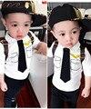 Pilotos Uniformes Meninos Kid SportsWear Treino Roupa Dos Desenhos Animados Do Bebê Ternos conjuntos de roupas de Outono-manga Longa crianças meninos roupas