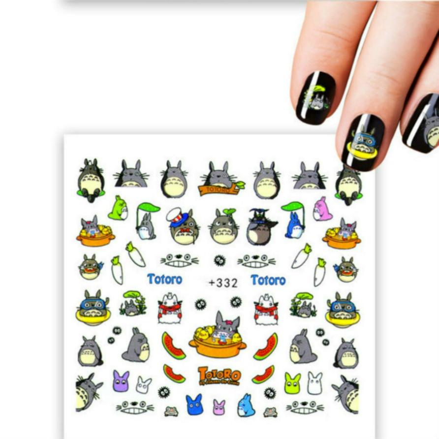Nails Art & Werkzeuge Lolede Totoro Cartoon Farbe Pailletten Nail Art Glitter Flakes Uv Gel Polnischen Star Herz Blume Paillette Decor Werkzeuge 011 ZuverläSsige Leistung