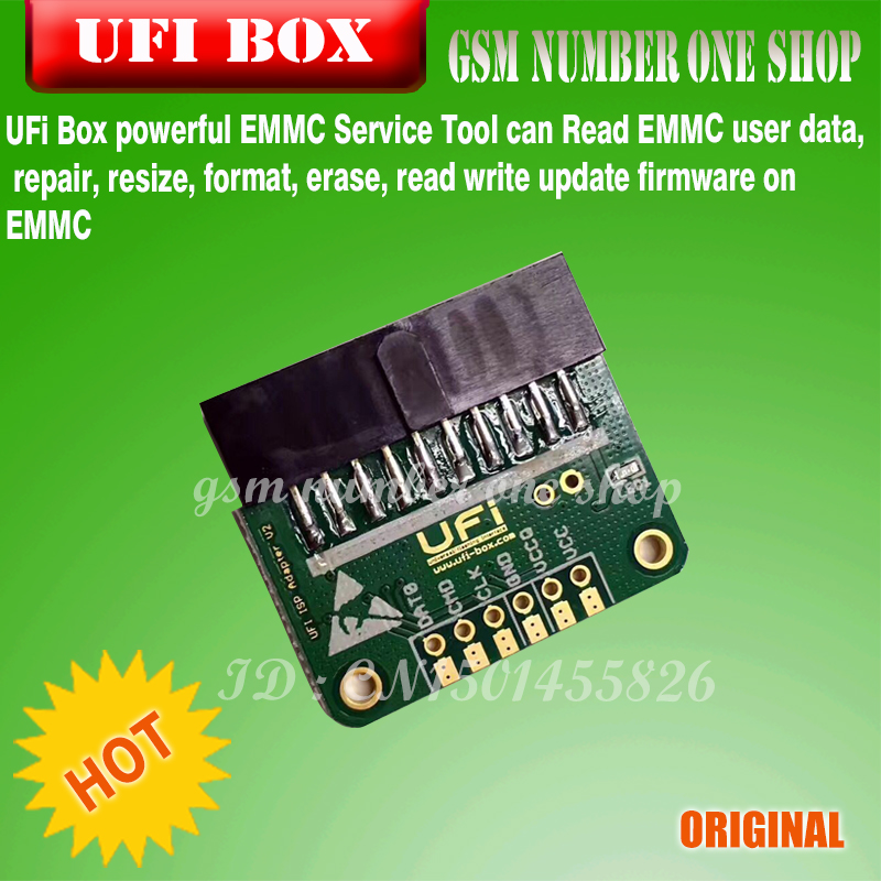 US $309 0 |2018 new original Ufi Box / ufi box TOOL full EMMC Service  Tool-in Telecom Parts from Cellphones & Telecommunications on  Aliexpress com |