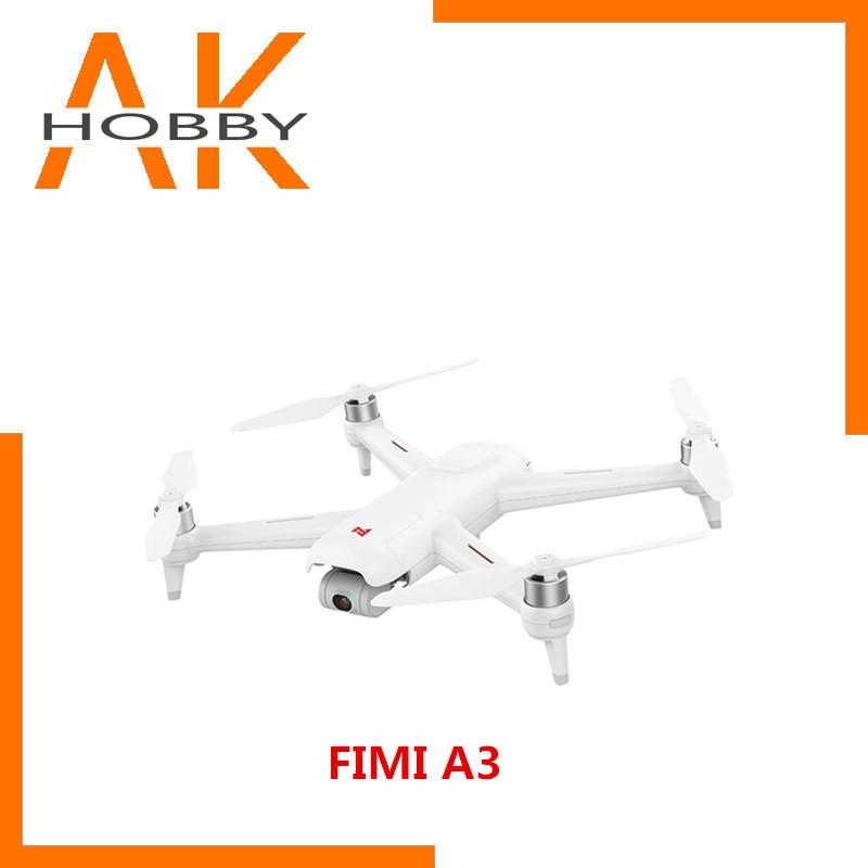 Avoir Stock FIMI A3 5.8G 1 KM FPV avec 2 axes cardan 1080 P caméra GPS RC Drone quadrirotor RTF-5.8G FPV