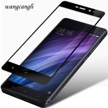 wangcangli 3d for xiaomi redmi 4x tempered glass for xiaomi redmi note 4x 4a Pro Note 4X Screen Protector Toughening Film for xiaomi redmi note 4x tempered glass screen film