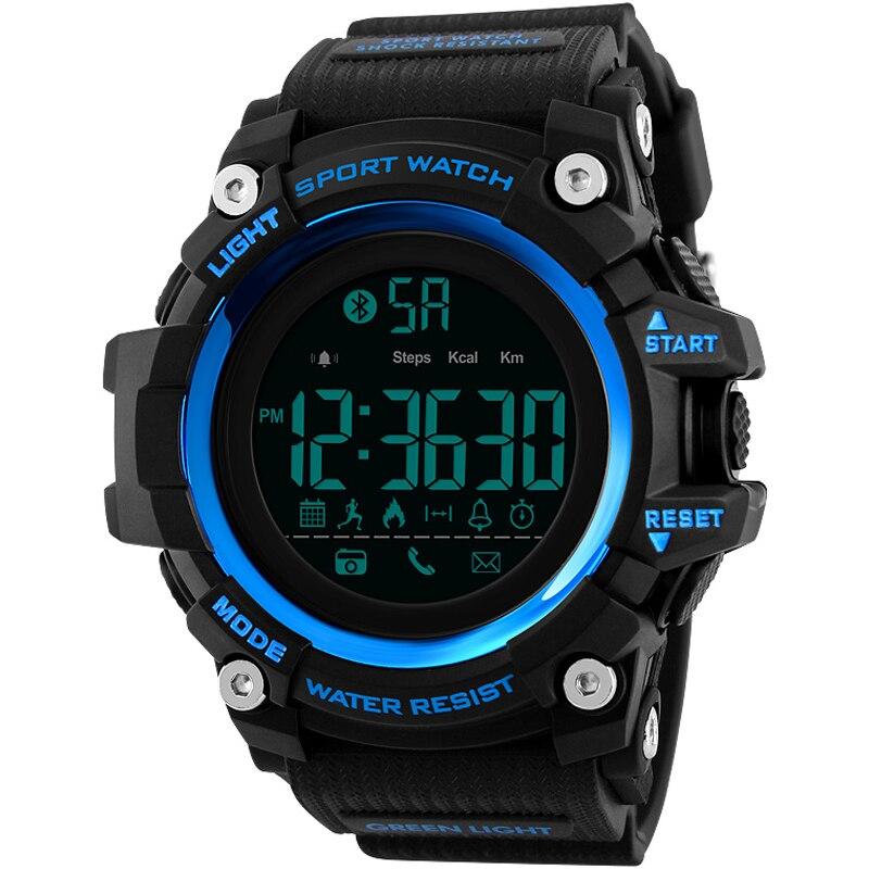 Men Smart Sports Watch Pedometer Calorie Chronograph Fashion Outdoor Sports Watch 50 Meter Waterproof Digital Watch набор кухонных полотенец meteor неделька 7 предметов