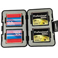 Memory Card Case Holder for 12 in 1 Storage Holder Hard Case Protector Box for 4SD+4CF+4TF SD CF SDHC Card