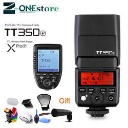 Godox Mini Speedlite TT350 TT350P Camera 2.4GHz Wireless Flash TTL HSS GN36 +Wireless Flash XPro-P Trigger for Pentax Camera