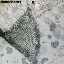 85cm net fishing tackle product with Buckle flat beam pot small Mesh Foldable fyke net all for cheap fishing suppliers 1set