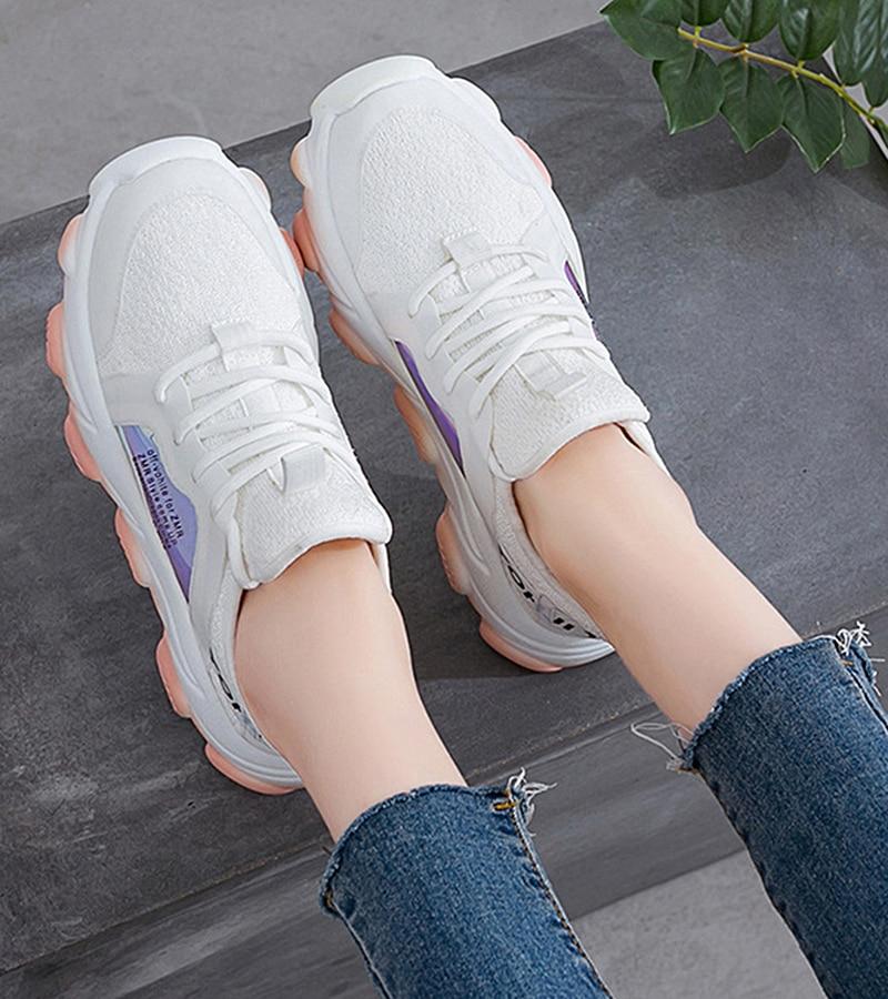 Platform sneakers women white Breathable Mesh casual shoes female new Summer Flat Women Vulcanize Shoes tenis feminino VT249 (11)