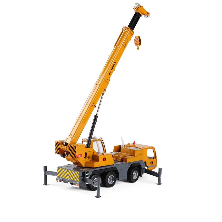 1:50 alloy big crane engineering transport truck crane children's toy car model engineering car W107 цена