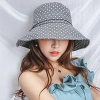 Dames flat top cap de tissu Femmes point solaire soleil chapeau D'été sauvage chapeau de bassin