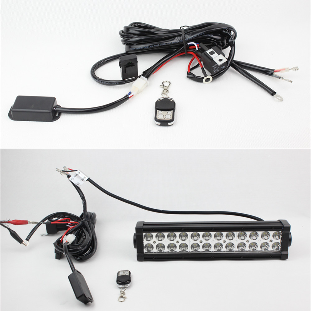 A v wiring harness set kit for led light bar
