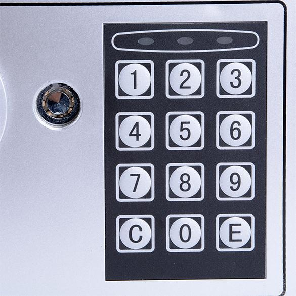 Electronic Lock Password Safe Box Fingerprint Pistol Safe Box Money Safe Electric Lock Shipped From US Germany 2