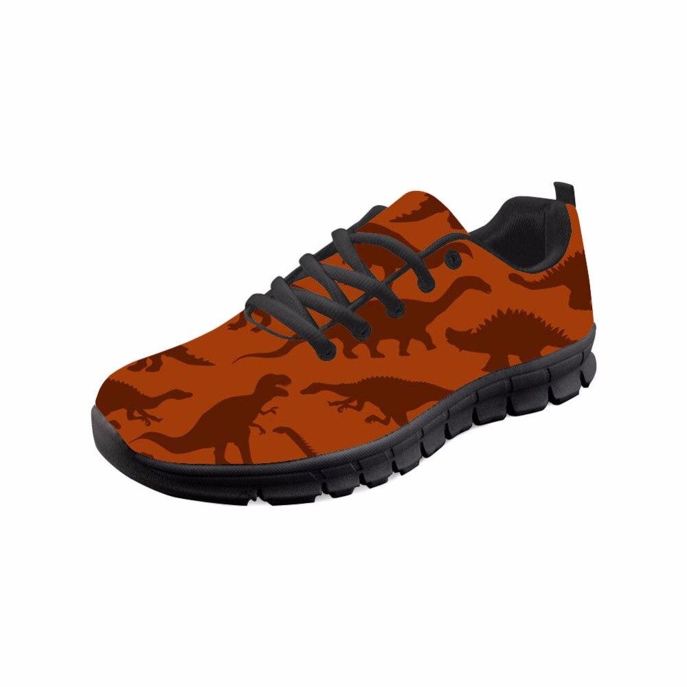 ديناصور و التنين المطبوعة الرجال عارضة الشقق أحذية رياضية أزياء الرجال مريحة للتنفس أحذية الرجال الرياضة-في أحذية رجالية غير رسمية من أحذية على  مجموعة 1