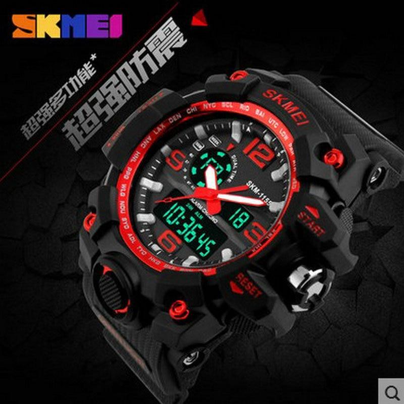 luxury watches men waterproof watch custom font b dual b font time watch