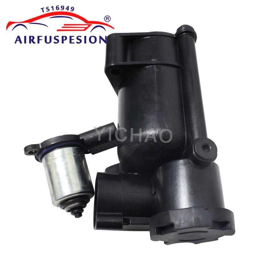 For Mercedes W164 W221 W251 W166 Valve Air Suspension Compressor Pump Plastic Part 1643200204 2213200904 2513200104 1663200104
