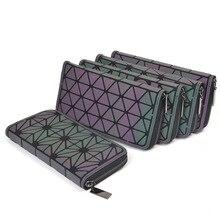 2018 Модный женский длинный кошелек клатчи тиснение женский кошелек на молнии деньги сумки для женщин карты кошелек ручной сумки