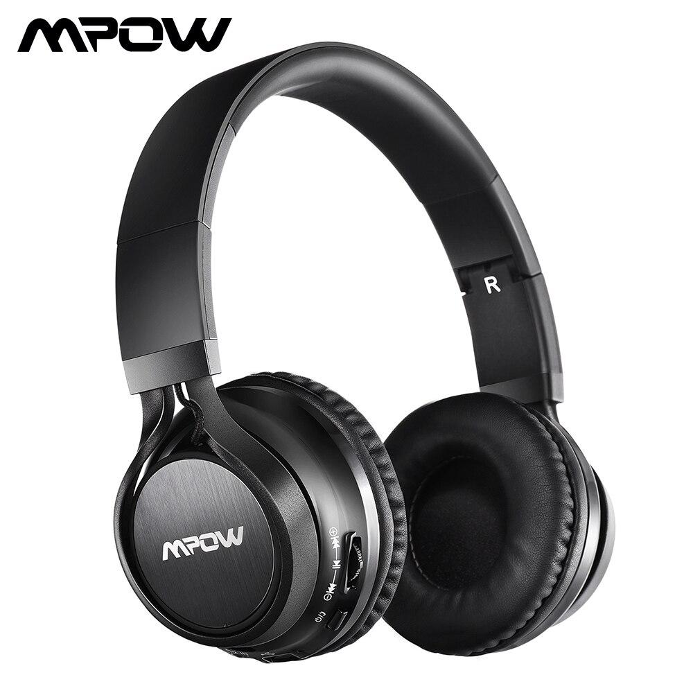 Mpow MPBH036BB Bluetooth austiņas, virs auss, salokāms, bezvadu - Portatīvie audio un video