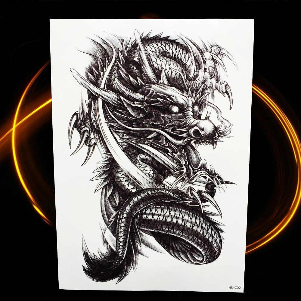 3D временная татуировка динозавра для женщин, ног на руку, мужские поддельные татуировки, водостойкая Наклейка на тело Юрского периода, временная татуировка дракона
