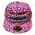 Captain America Shield printing Snapback Caps Adult Hip-hop Hats Baseball Cap Clown for Men Women