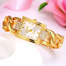 Classic Dress Women Watches Crystal Rhinestones Quartz Wristwatch Lady Party Bracelet Bangle Relogio Casual Watch Women @F(China)