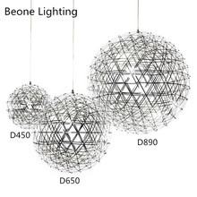 цены Replica Raimond LED Modern Stainless Steel Pendant Light Pendant lamp Pendant lighting