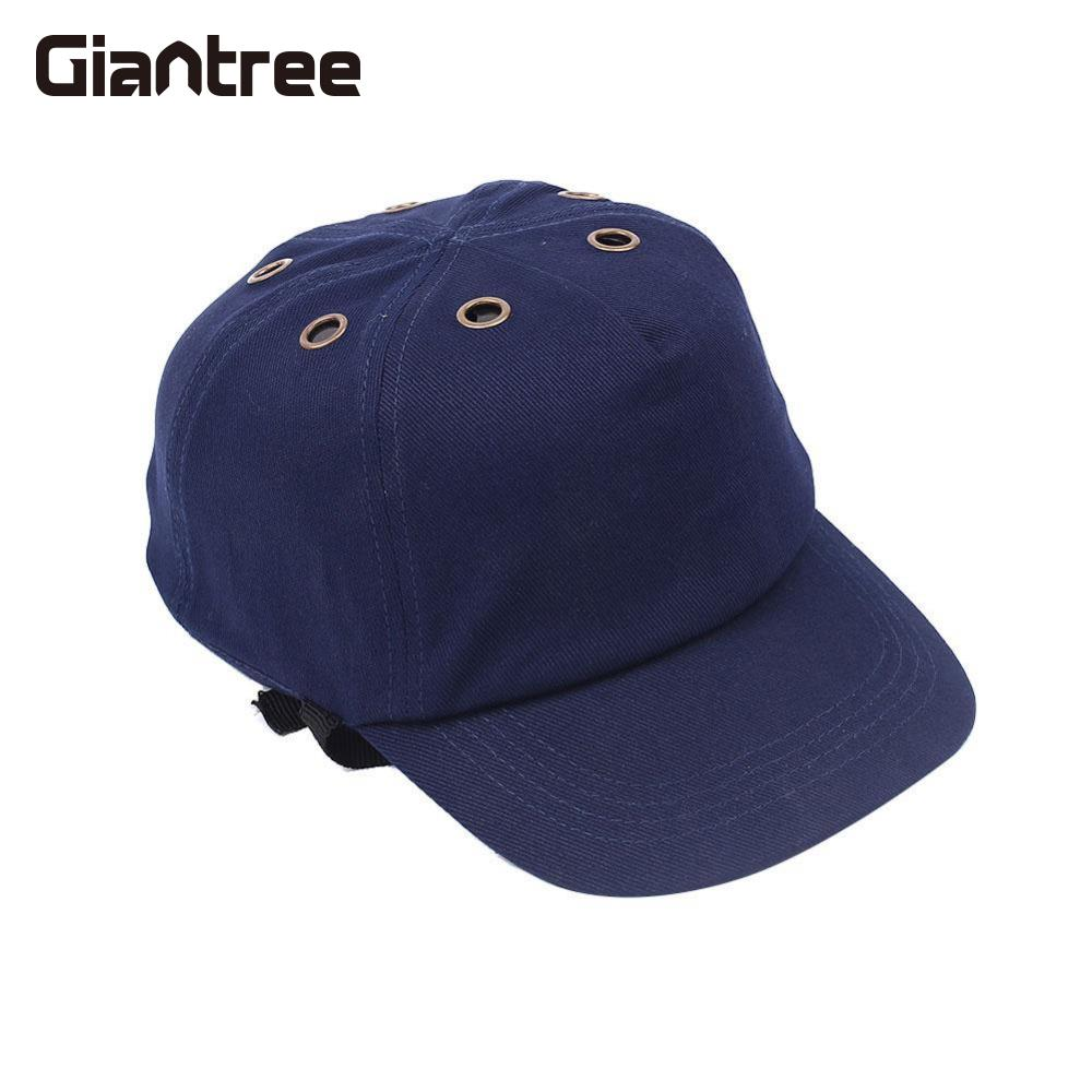 giantree Adjustable Anti-Smashing Baseball Style Safety Hat Cap Site work safety helmet Navy Light anti-smashing Head protection high quality safety helmet abs y china national standard casco de seguridad anti smashing multifunction hard hat