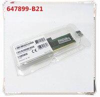جديد ل 647899-b21 664691-001 8 جيجابايت 1Rx4 PC3-12800R DDR3 1 سنة الضمان